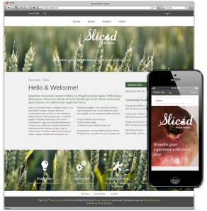 Sliced Responsive Plone Theme